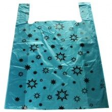 пакет майка звезда синий