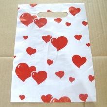 пакет пнд с вырубленной ручкой сердечко