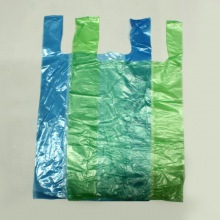 Пакет-майка, без рисунка, 28х50 см, 12 мкр