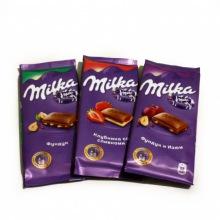 """Шоколад """"Milka"""" в ассортименте"""