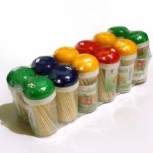 Зубочистки в пластиковом тубусе Toothpick (150 шт)