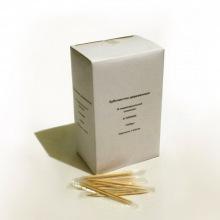 Зубочистки деревянные в индивидуальной упаковке (1000 шт)