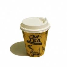 Стакан картонный для кофе 300 мл. (+ крышка)
