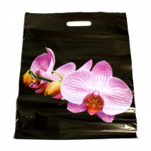 """Пакет """"Орхидея"""", черный."""