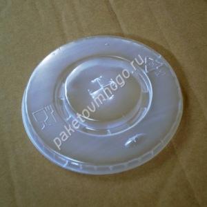 крышка пластиковая с отверстием для бумажного стакана