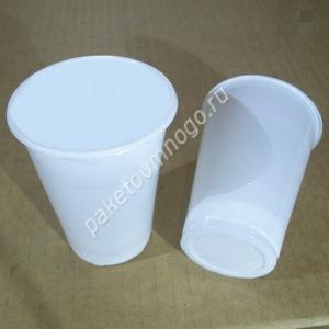 стаканы пластиковые 180 мл