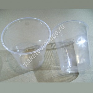 круглый пластиковый контейнер