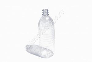 Бутылка ПЭТ 1л + крышка