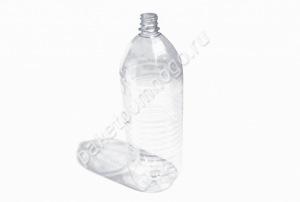 Бутылка ПЭТ 2л + крышка