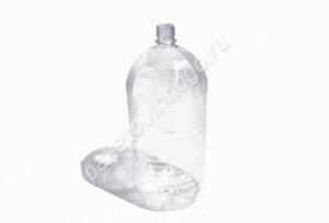 Бутылка ПЭТ 3л + крышка + ручка