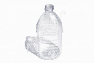 Бутылка ПЭТ 5л + крышка + ручка
