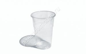 Пластиковый стакан ПП 500 мл «Факел» прозрачный