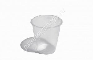 Пластиковый стакан ПП 500 «Бочонок» прозрачный