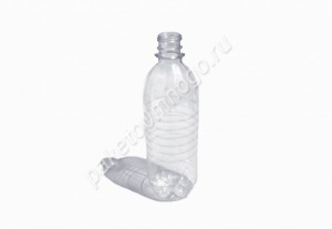 Бутылка ПЭТ 0.5л + крышка