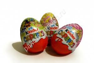 """Шоколадное яйцо """"Kinder"""" Surprise"""