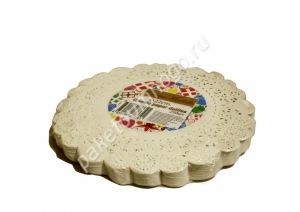 Подложка для сервировки и упаковки кондитерских изделий (22 см)